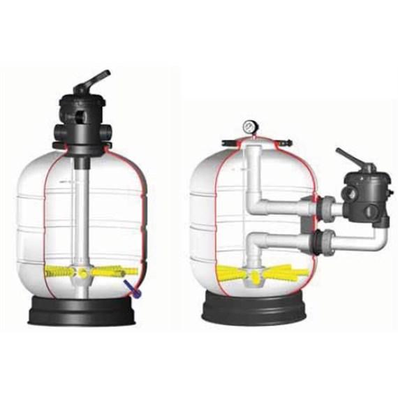 Filtraci n para piscinas electro bombas san vicente for Bomba para piscina con filtro