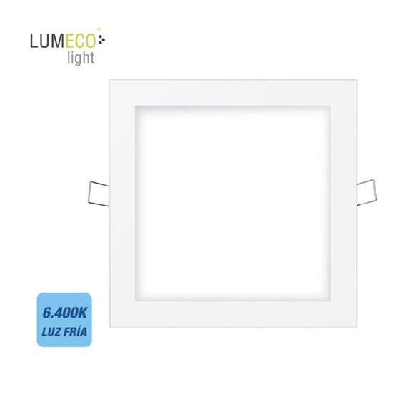 Downlight led empotrable cuadrado