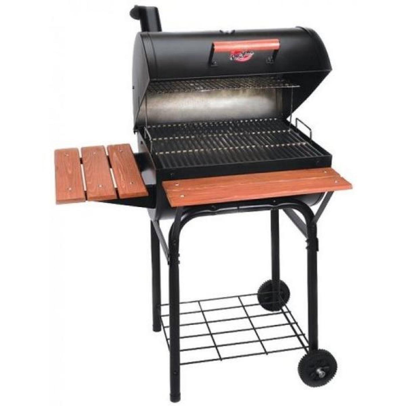 Barbacoa wrangler char griller for Carbon para barbacoa