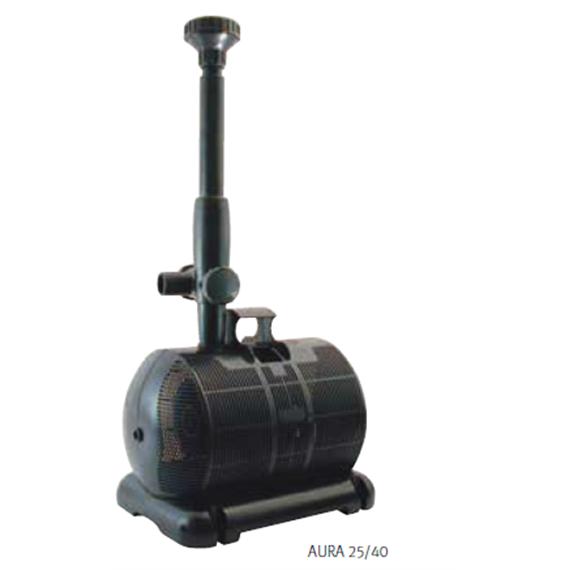 bomba para estanques y fuentes aura de espa