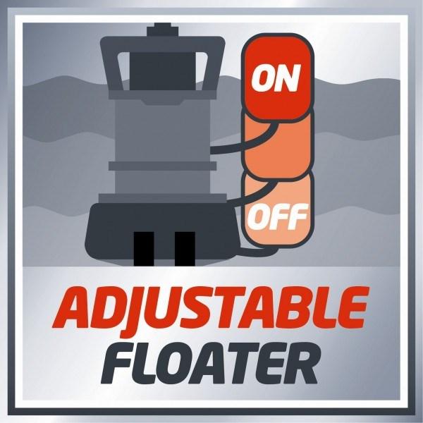 bomba sumergible aguas sucias y limpias einhell ge dp 7330 ll. Black Bedroom Furniture Sets. Home Design Ideas