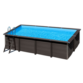 Piscina desmontable Rectangular Gre Composite