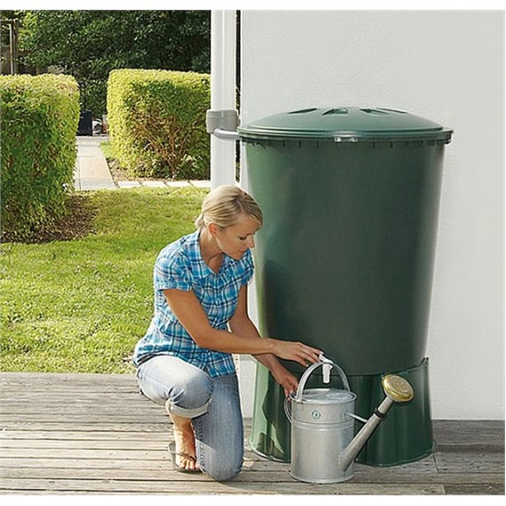 Dep sito exterior redondo graf for Recuperar agua piscina verde